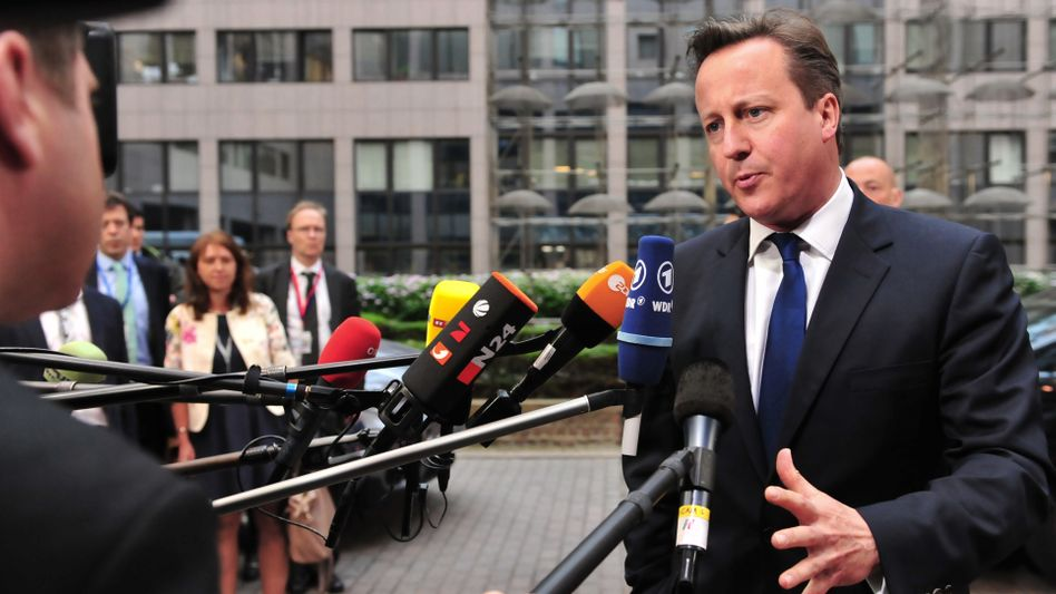 David Cameron beim EU-Gipfel: No Juncker please, we are British