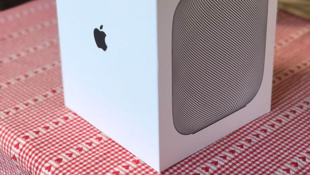 Der Siri-Lautsprecher: Apple HomePod im Test