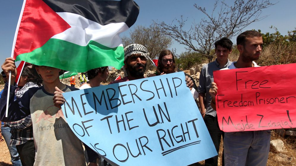 Photo Gallery: Palestinians To Seek UN Membership
