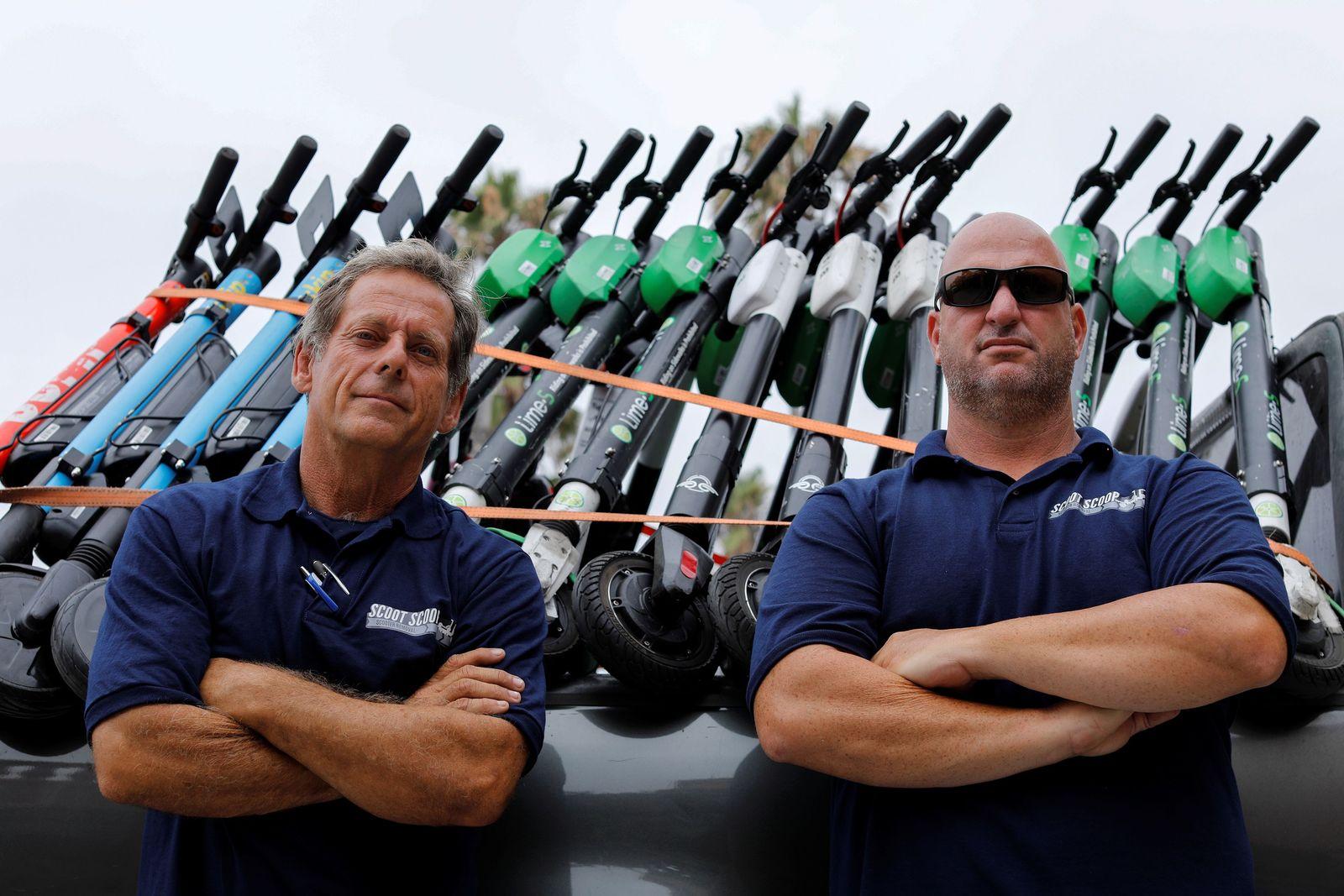 Scoot Scoop founders John Heinkel and Dan Borelli