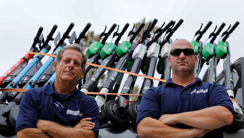 ScootScoop-Gründer John Heinkel und Dan Borelli