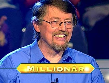 Erster Jauch-Millionär Freise: Redseliger Geschichts-Professor