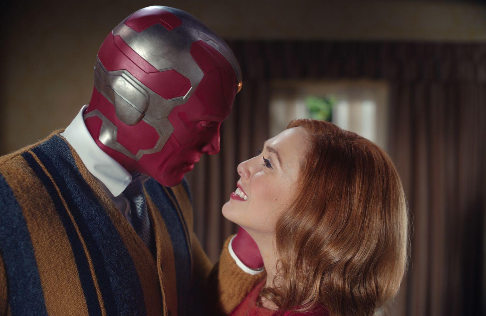 """WandaVision"""" - Marvel-Sitcom auf Disney+: Vorort-Horror mit Superhelden -  DER SPIEGEL"""