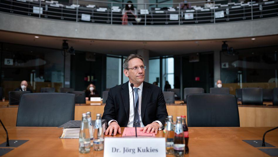 Jörg Kukies vor dem Wirecard-Ausschuss