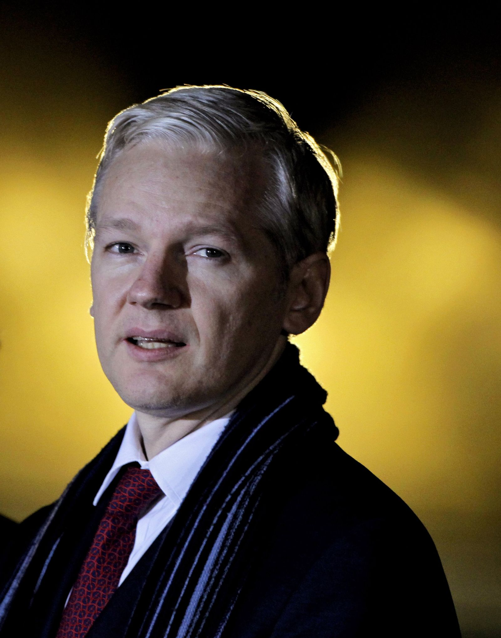 Wikileaks Founder Julian Assange in Court for Extradition Hearing