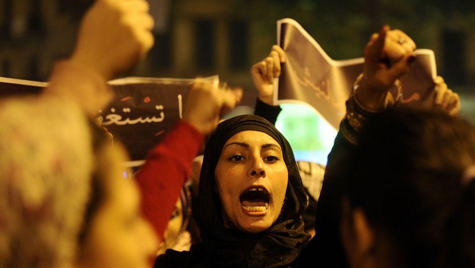 Demonstration in Kairo: Ägyptens Frauen begehren gegen Misshandlungen auf