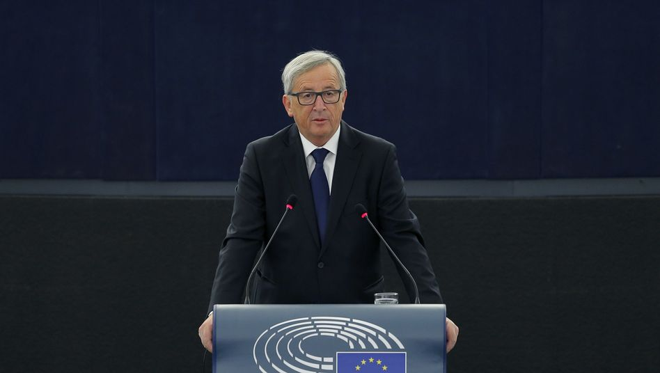 European Commission President Jean-Claude Juncker delivered his State of the Union address on Wednesday in Brussels.