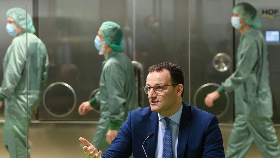 German Health Minister Jens Spahn: Optimism hasn't been matched by reality.