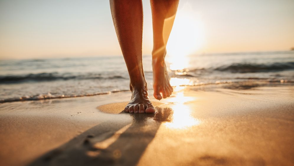 Füße im Sand: Das gewisse Etwas, das von einem Strandbesuch in Erinnerung bleibt