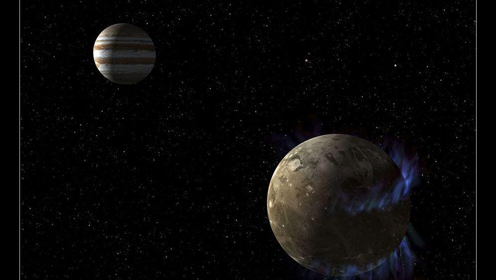Ganymed: Wasser, hier ist alles voll Wasser