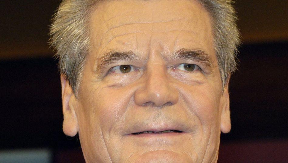 """Bürgerrechtler Gauck: Laut Selbstauskunft ein """"linker, konservativer Liberaler"""""""
