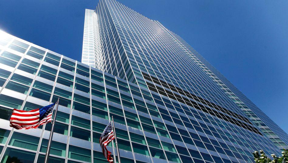 Goldman-Sachs-Gebäude in New York: Vorbereitung auf einen möglichen Zusammenbruch