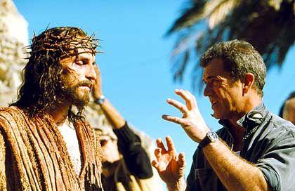 """Regisseur Gibson am Set von """"The passion of the christ"""": """"Die Leute bis an den Rand treiben"""""""