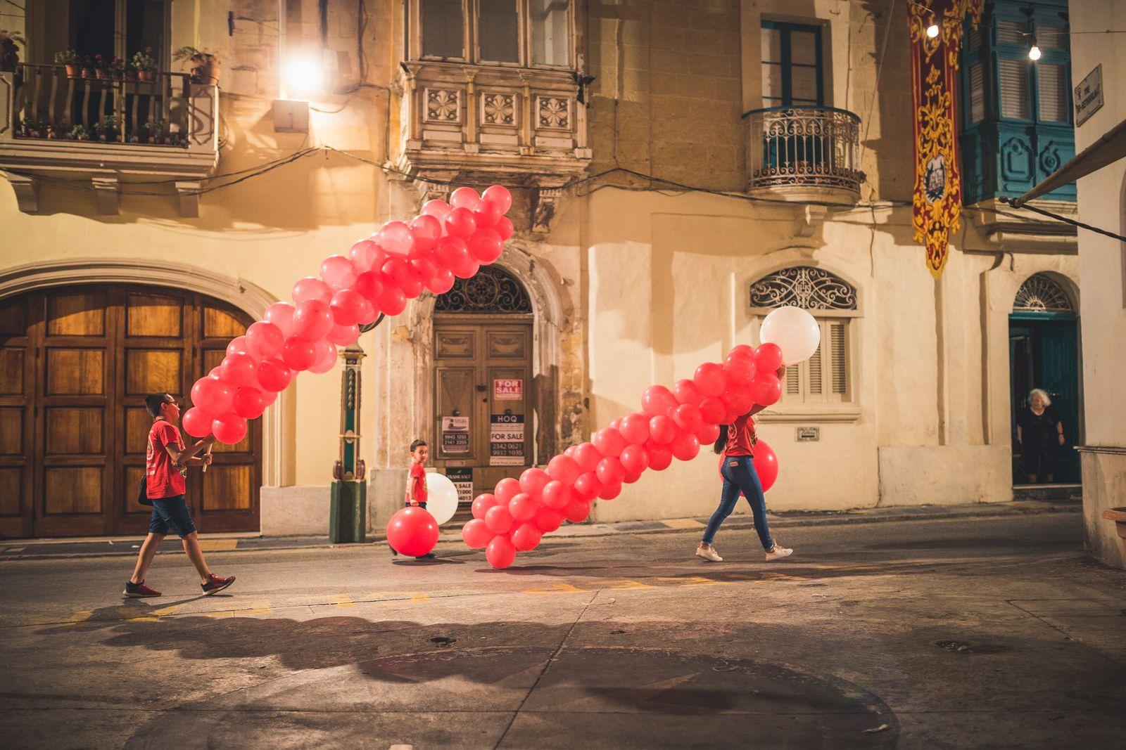 Outdoor-Malta19JPG-26 Festa-Teilnehmer in Rabat