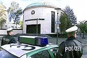 Die Polizei verstärkte den Schutz für die Synagogen in Deutschland