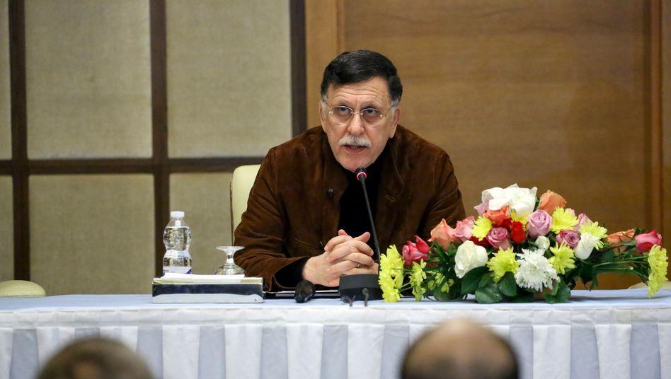 "Libyens Ministerpräsident Sarraj: ""Würden eine Schutztruppe begrüßen"""