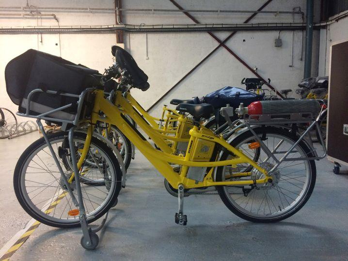 Fahrräder von La Poste