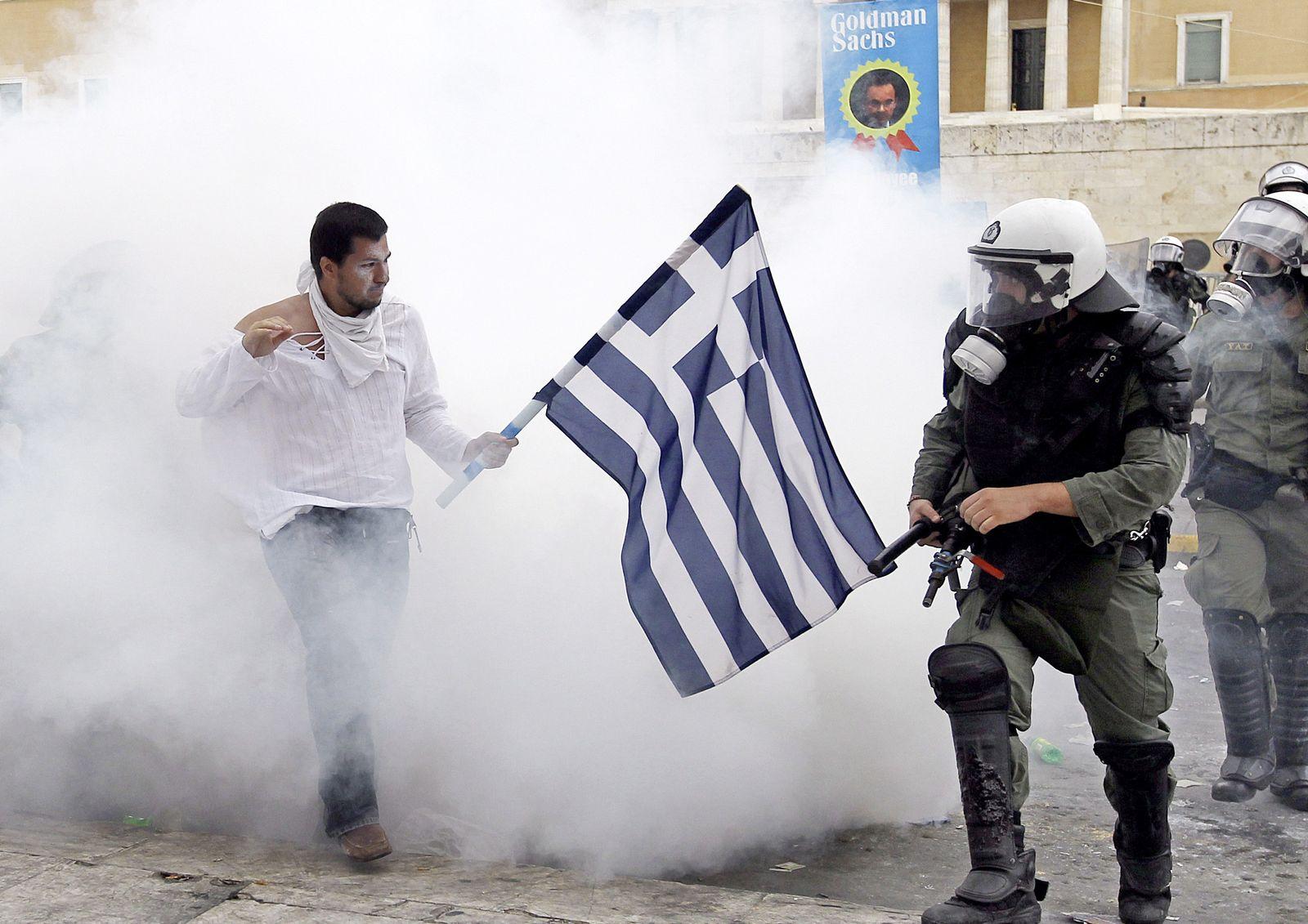 Griechenland protest