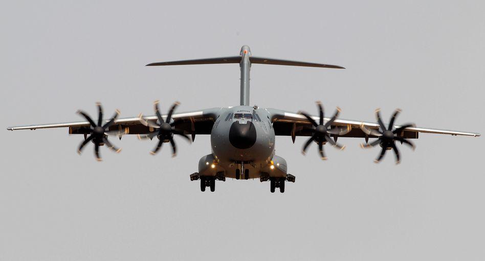 Transportflugzeug Airbus A400M (Archivfoto)