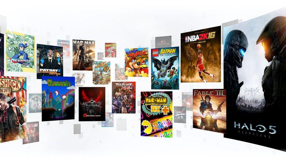 Spiele des Xbox Game Pass