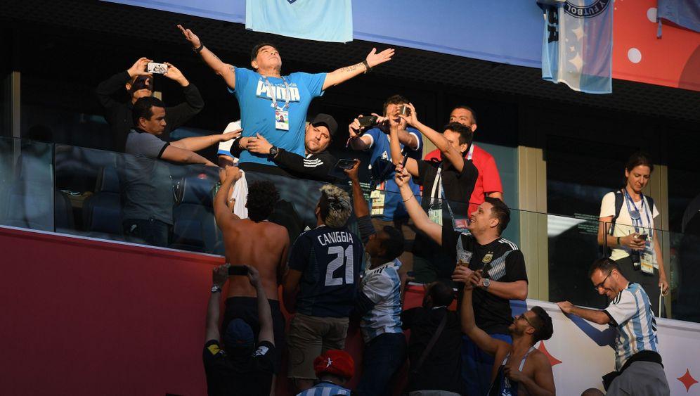 Diego Armando Maradona: Wie ein Beatle - oder gleich alle vier