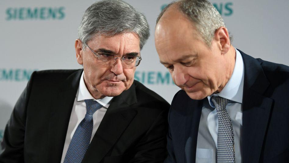 Siemens: Vizechef Busch zum Nachfolger von Joe Kaeser ernannt
