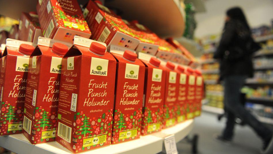 Alnatura-Produkte in dm-Filiale in München (2012): Streit um Markenrechte