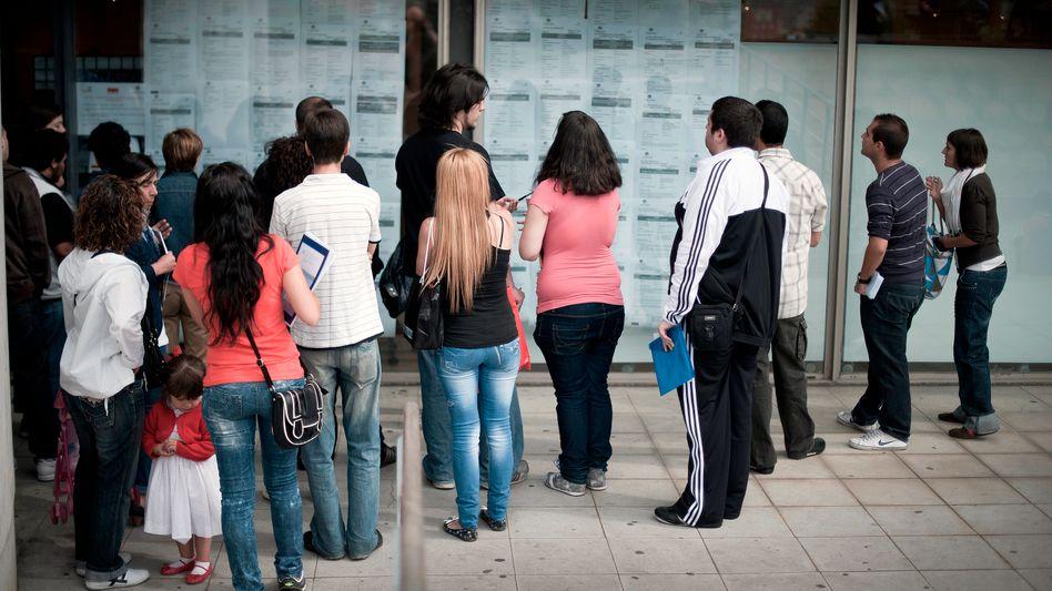 Junge Jobsuchende in Spanien: Ein Drittel aller Arbeitslosen weltweit ist unter 25