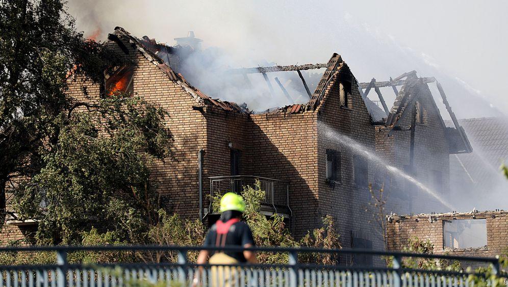 Siegburg: Flammen-Inferno an ICE-Strecke