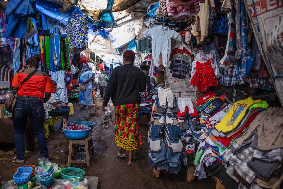 Kibera in Nairobi, der größte Slum Afrikas