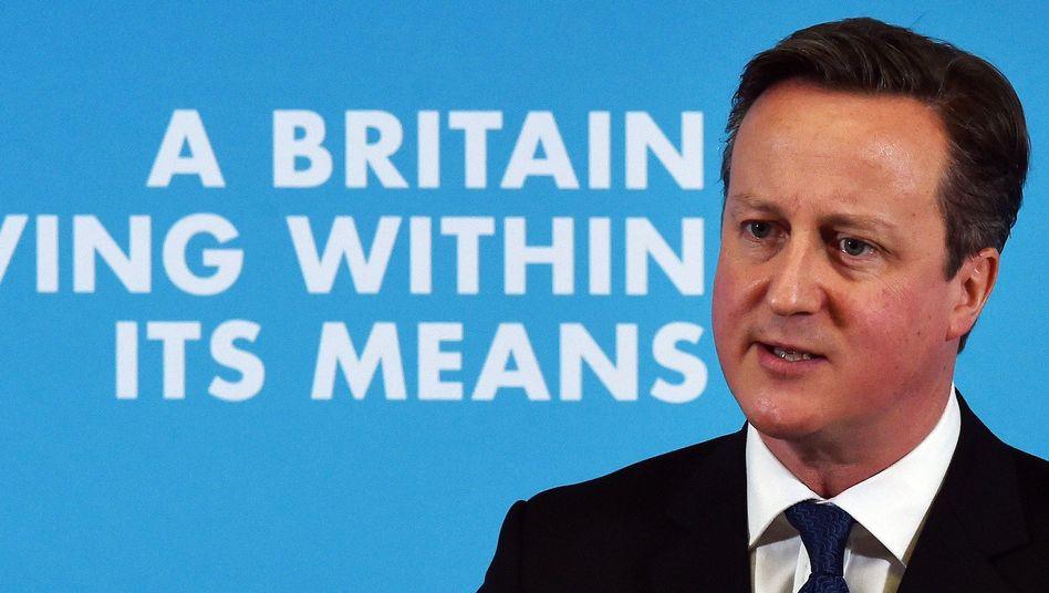 """Premierminister Cameron: """"Terroristen keinen sicheren Raum zur Kommunikation einräumen"""""""