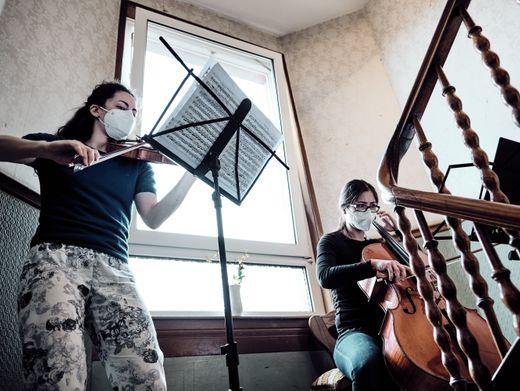 Der »Musiklieferdienst« der Kammerphilharmonie Frankfurt in Aktion