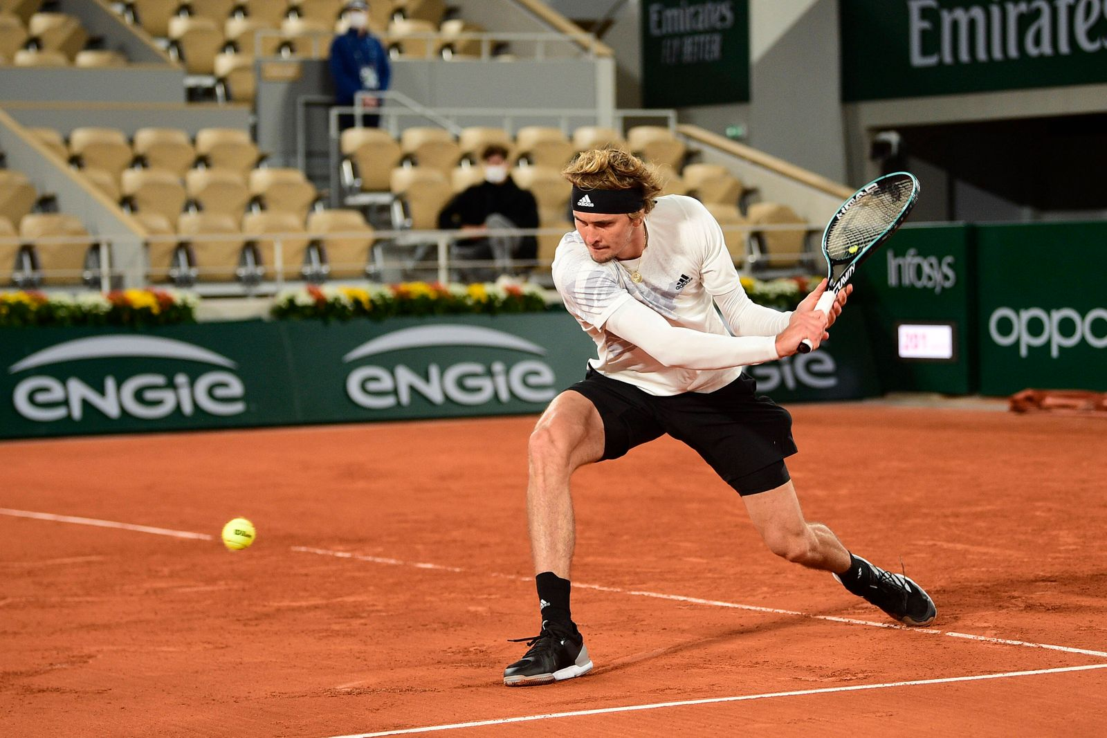 Alexander Zverev (Ger) TENNIS : Internationaux de France Roland Garros 2020 - Paris - 27/09/2020 JBAutissier/Panoramic