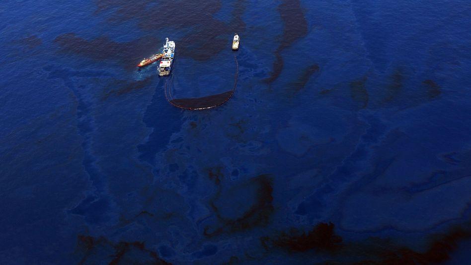 """Rettungsmanöver im Golf von Mexiko: """"Ihr werdet nicht im Stich gelassen"""""""