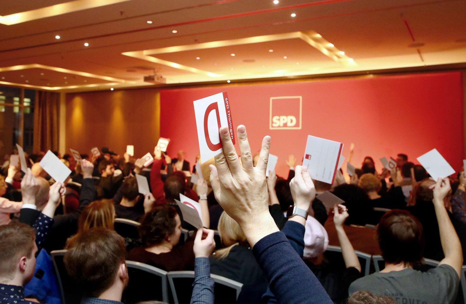 Außerordentlicher SPD-Landesparteitag Thüringen