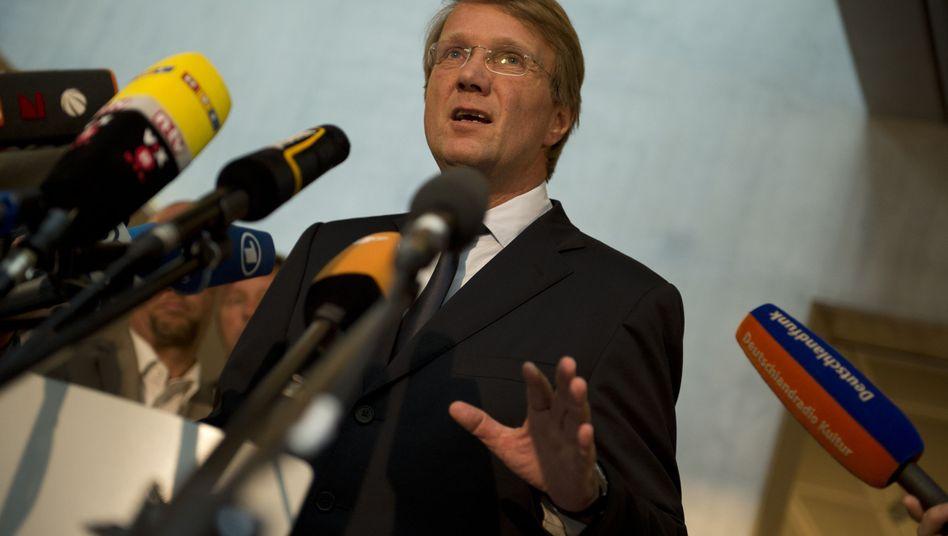 "Kanzleramtsminister Ronald Pofalla: ""Vertraue niemandem. Niemals."""