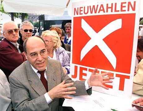 Kandidat oder Konkurrent? Gregor Gysi (PDS)