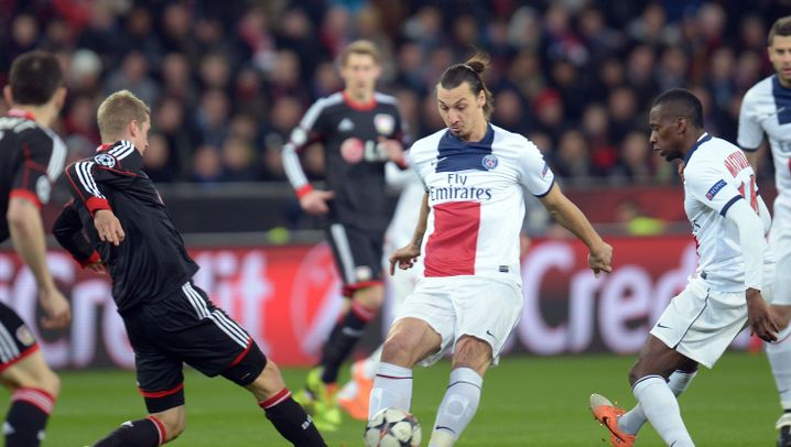 Bayer vs. Paris: Zlatan macht den Unterschied