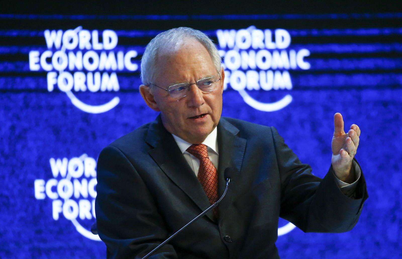 Schäuble/ Davos