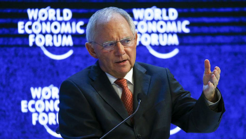German Finance Minister Wolfgang Schäuble says that Europe needs to invest as much money as possible as quickly as it can in the Middle East and North Africa to slow migration.