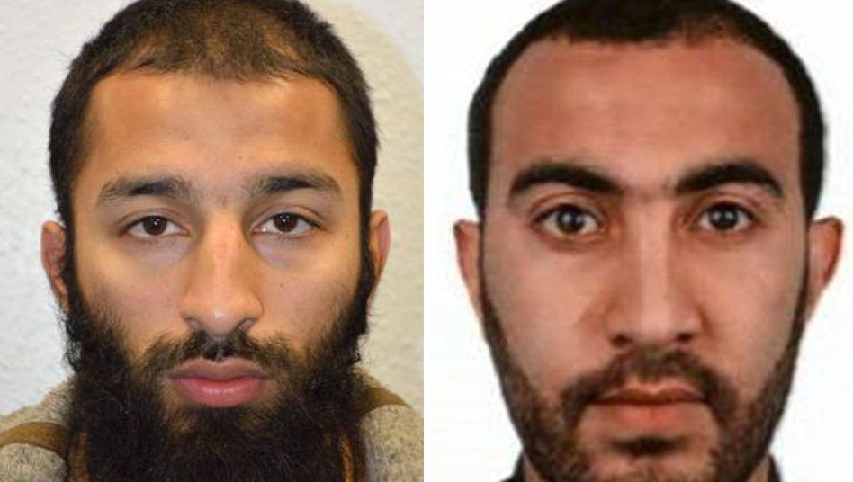 Anschlag von London: Britische Polizei nennt Namenvon zweiAngreifern