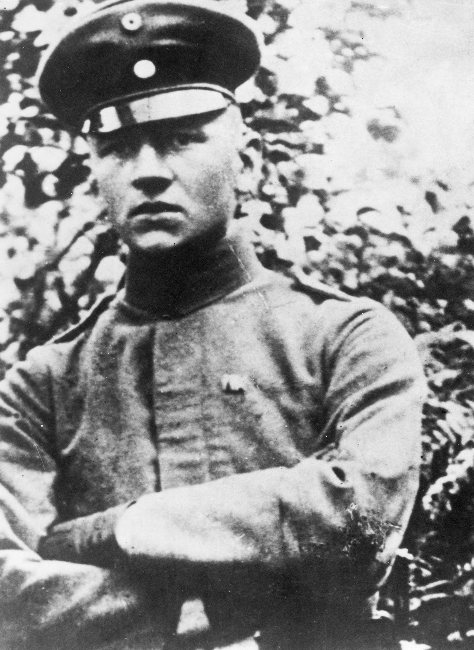 Hermann Fischer, einer der beiden Mörder von Reichsaußenminister Walther Rathenau am 24. Juni 1922