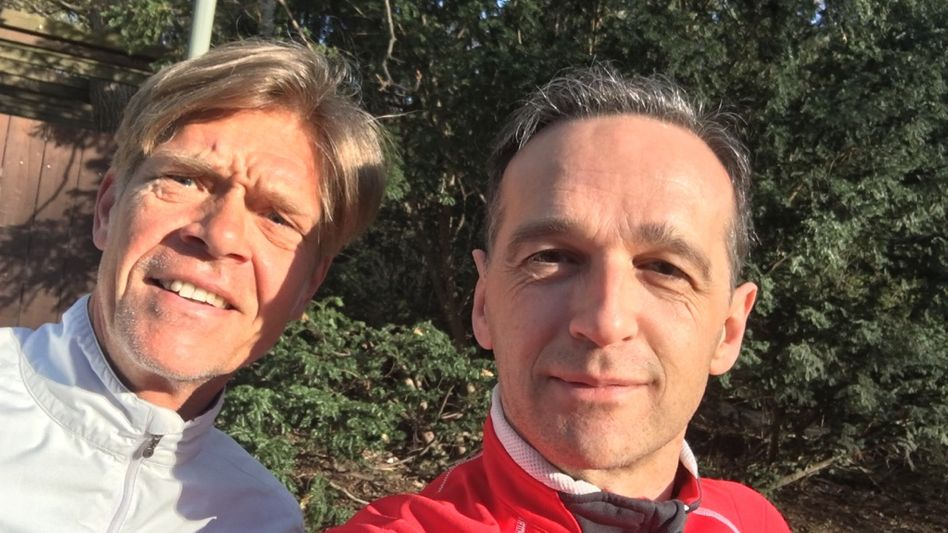 Hajo Schumacher und Heiko Maas
