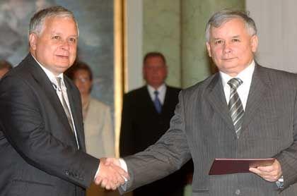 Polens Präsident Lech Kaczynski: Sinn für Dramatik