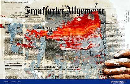 """Werbung für Frankfurter Allgemeine Zeitung: Die Klassiker-Kampagne """"Dahinter steckt immer ein kluger Kopf"""" - Silber für Scholz & Friends"""