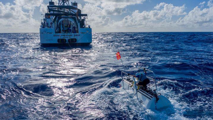 Tauch-Expedition im Marianengraben: Plastiktüte in 11.000 Metern Tiefe