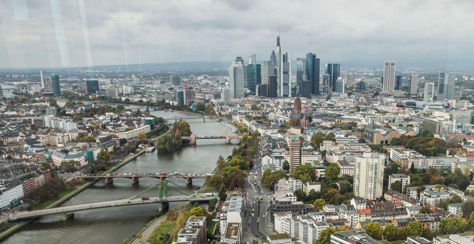 Frankfurter Finanzviertel: Griechenland ist zum Randproblem geworden
