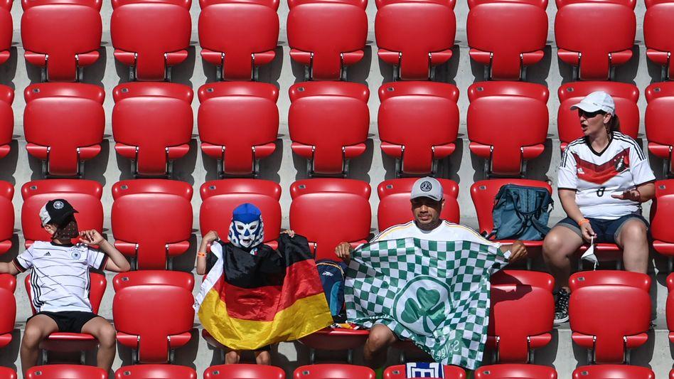 Deutsche Fans in der Arena München