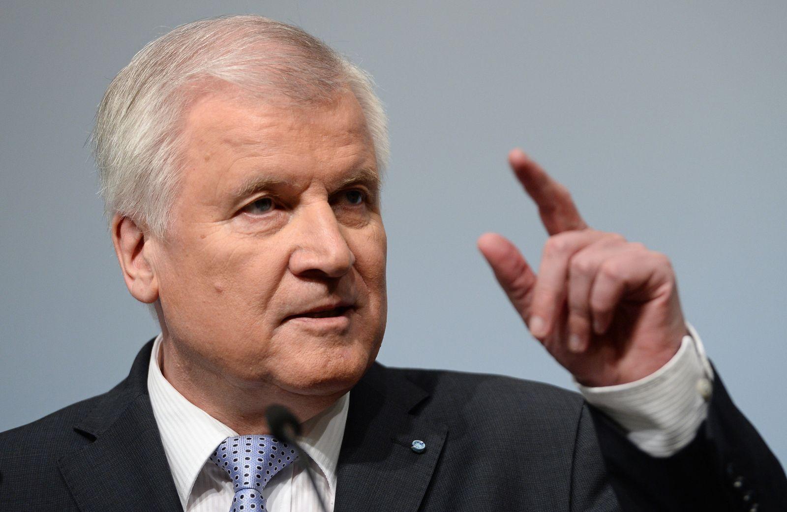 CSU-Vorstandssitzung Seehofer