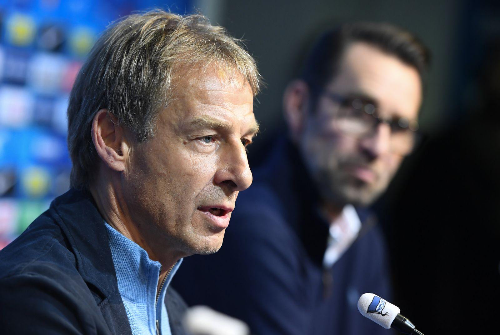 Neuer Trainer bei Hertha BSC